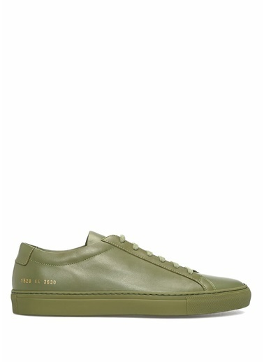 Common Projects Sneakers Yeşil